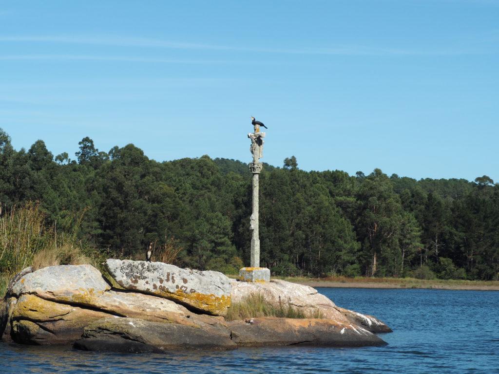 ruta cruceiros Río Ulla