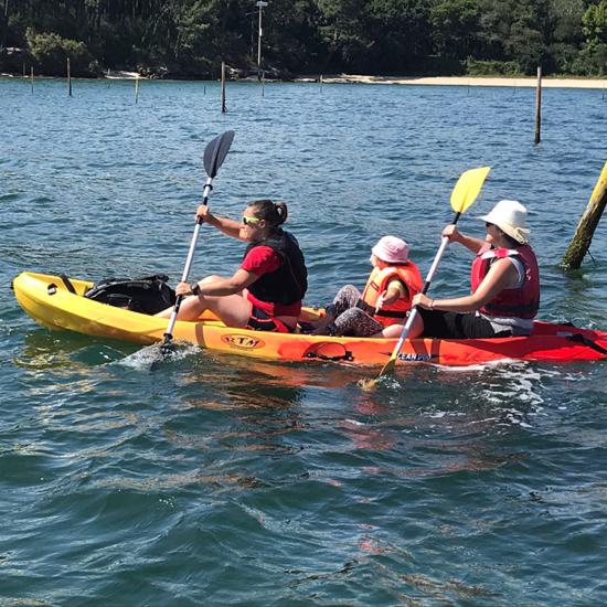 ruta en kayak isla Cortegada