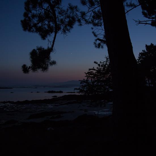 ruta nocturna Cortegada illas atlánticas de Galicia