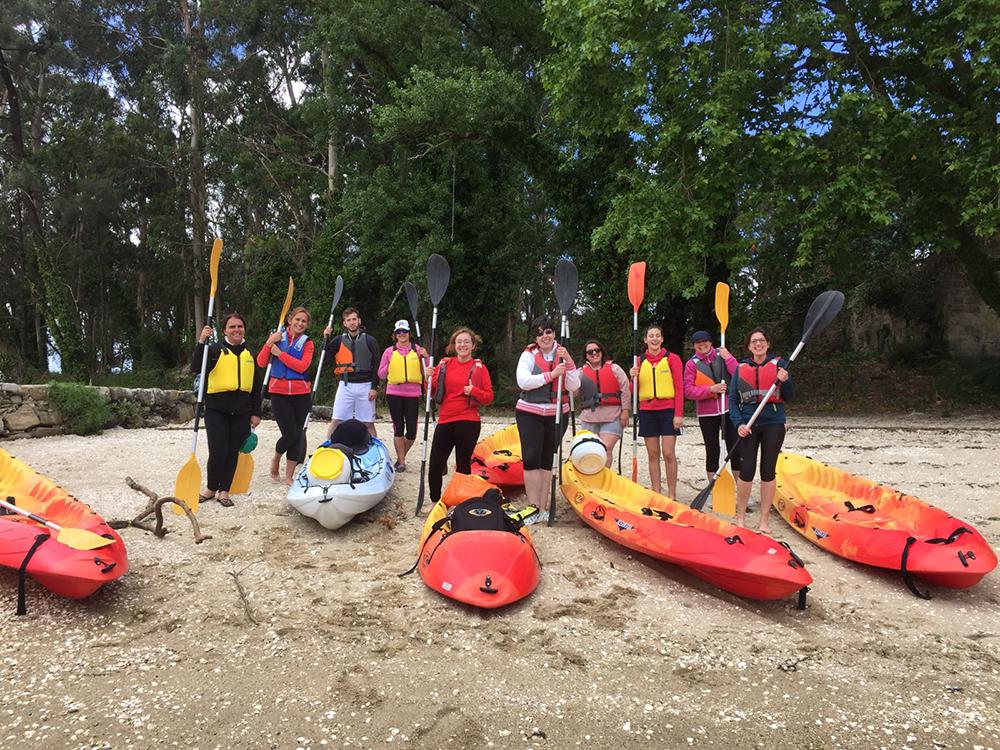 rutas kayak a Cortegada